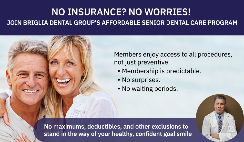 Join our Affordable Senior Dental Care Program and get premium benefits